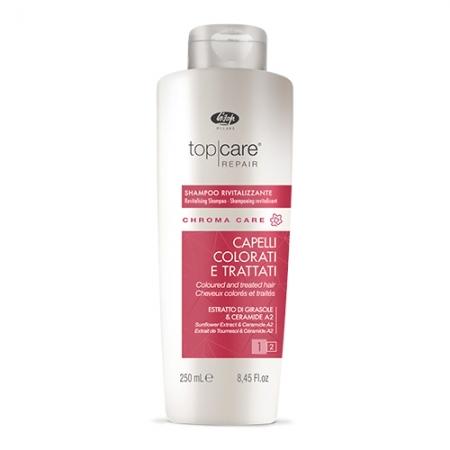 Оживляющий шампунь для окрашенных волос TOP CARE REPAIR chroma care