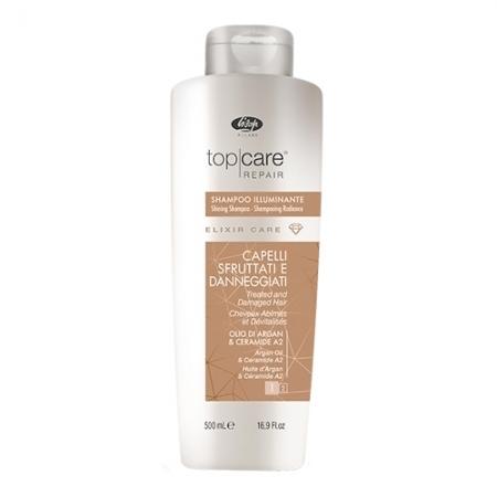 Шампунь для блеска волос TOP CARE REPAIR elixir care