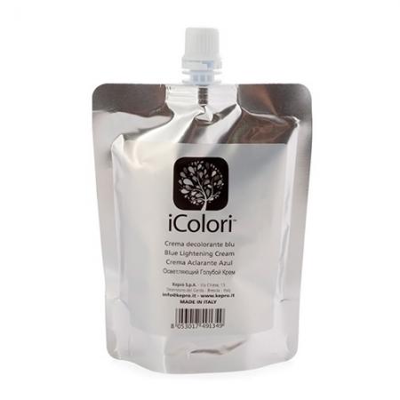 Осветляющий голубой крем для волос iColori