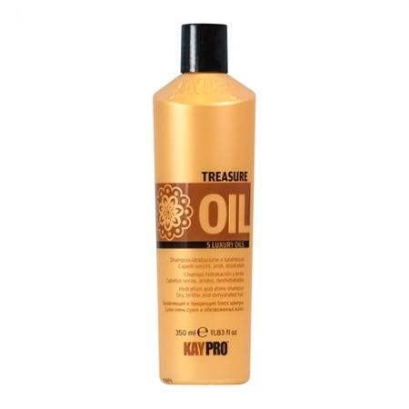 Увлажняющий шампунь TREASURE OIL 5 luxury oils