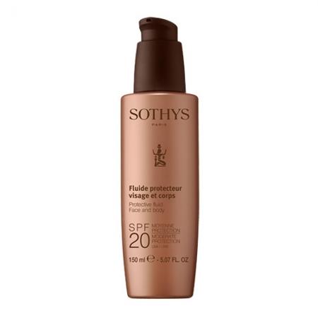 Защитный флюид для лица и тела Protective Fluid Face And Body SPF20
