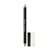 Двусторонний карандаш для подводки глаз Вlack & White
