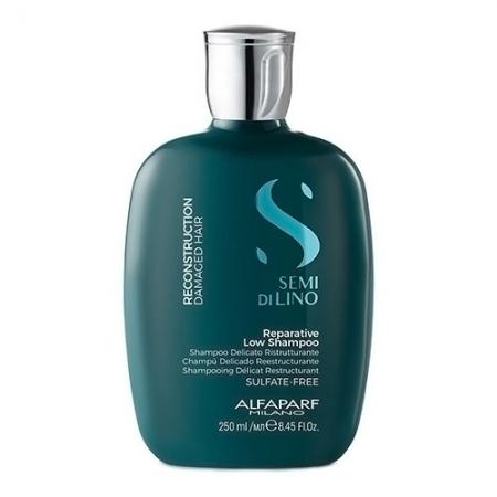 Восстанавливающий шампунь Semi Di Lino RECONSTRUCTION Reparative Low Shampoo