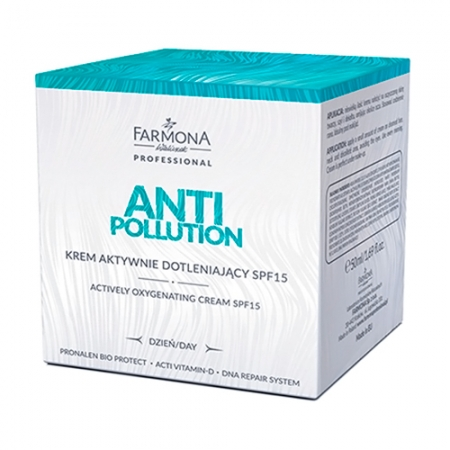 Активно кислородонасыщающий дневной крем SPF15 ANTI-POLLUTION
