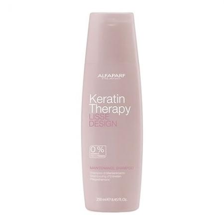 Кератиновый шампунь LISSE DESIGN Keratin Therapy Maintenance Shampoo