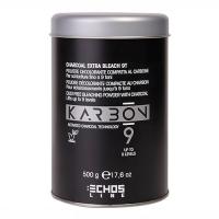 Обесцвечивающий угольный порошок KARBON 9 Charcoal Extra Bleach 9T