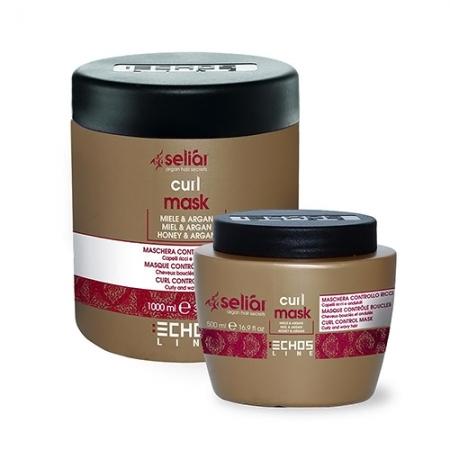 Маска для вьющихся волос с медом Seliar Curl Mask