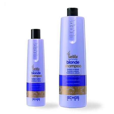 Шампунь с микрочастицами платины Seliar Blonde Shampoo