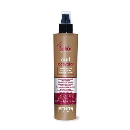Спрей для вьющихся волос с медом Seliar Curl Activator