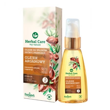 Аргановое масло для волос и кожи Herbal Care