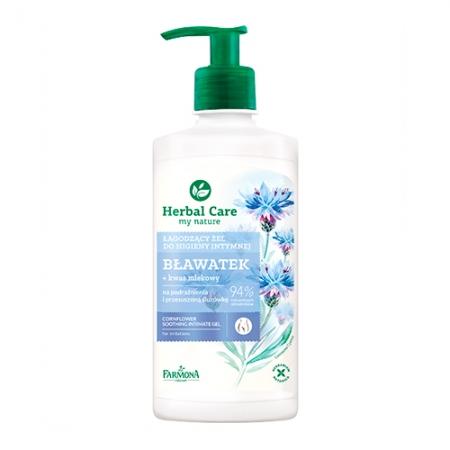 Нежный гель для интимной гигиены Herbal Care Василек