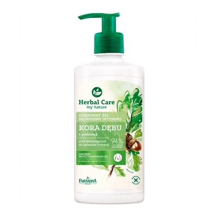 Нежный гель для интимной гигиены Herbal Care Кора дуба