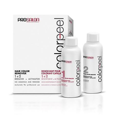 Смывка для удаления стойких красок Colorpeel Hair Color Remover 1+2