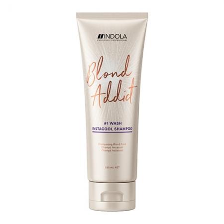 Оттеночный шампунь Blond Addict InstaCool Shampoo