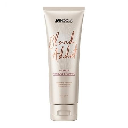 Оттеночный шампунь Blond Addict PinkRose Shampoo