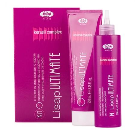 Перманентное кератиновое выпрямление волос Ultimate