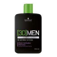 Шампунь активатор роста волос [3D]MEN Root Activator Shampoo