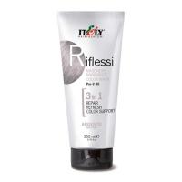 Оттеночная лечебная маска для волос RIflessi 3in1
