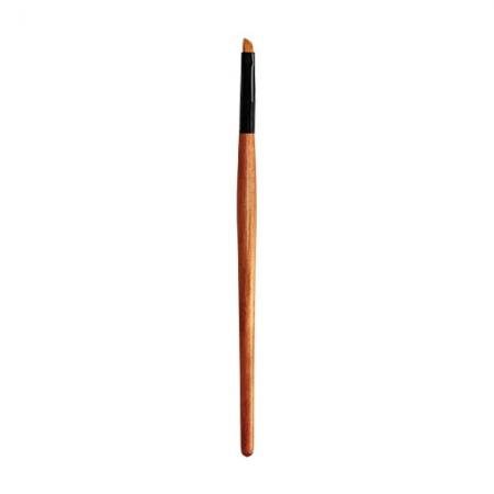 Плоская скошенная кисть для глаз и бровей №34