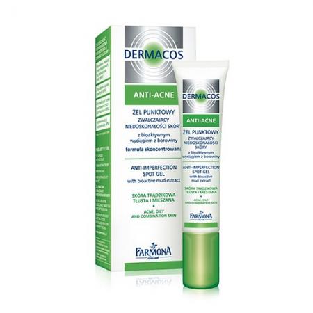 Гель точечного применения Dermacos Anti-Acne