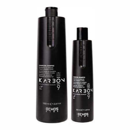 Угольный шампунь для волос KARBON 9 Charcoal Shampoo