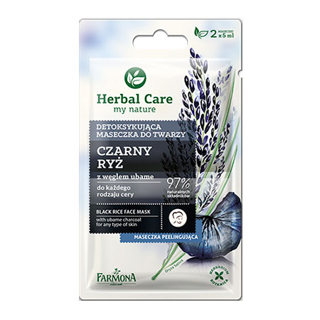 Маска для лица Herbal Care Черный рис