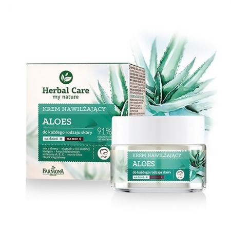 Увлажняюще-разглаживающий крем Herbal Care