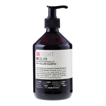 Нейтрализующий шампунь INCOLOR Anti-Yellow Shampoo