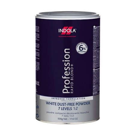 Порошок обесцвечивающий белый Rapid Blond + White Dust-Free Powder