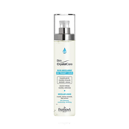Мицеллярная жидкость для снятия макияжа Skin Crystal Care Milcellar liquid